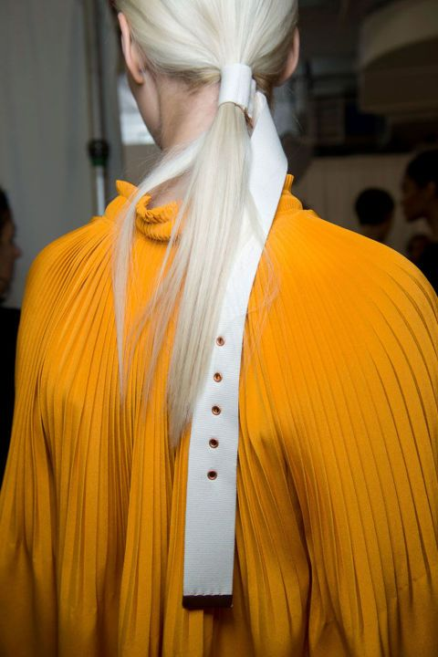 The Look: Belted Hair How-To: We thought we'd seen it all when it…