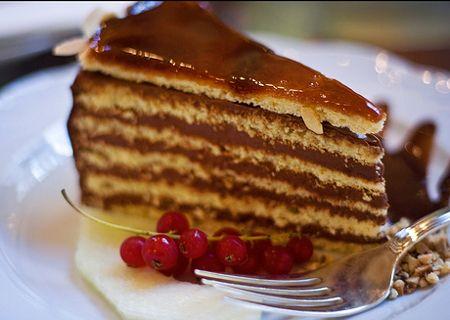 Receta de Torta dobos