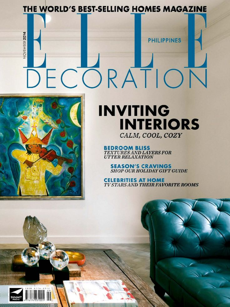 Find This Pin And More On Magazines PDF By Mgzn Me ELLE Decoration November 2014