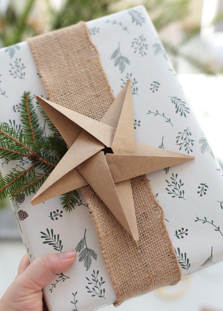 Weihnachten: Origami-Sterne basteln