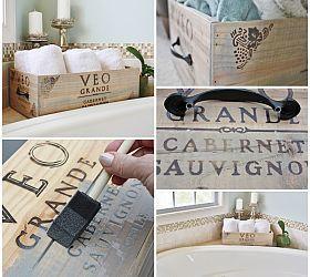 Create Storage out of a Wine Crate :: Hometalk: Wine Crates, Crate Storage, Create Storage, Diy Project, Craft Ideas, Crafts