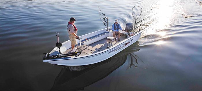 New 2013 Polar Kraft Boats Outlander 2010 T Multi-Species Fishing Boat