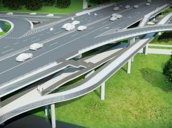 Przetarg na kładkę rowerową pod mostem Łazienkowskim