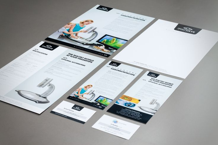 Microeye Interactive design collateral
