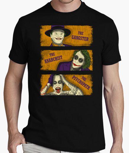 The Gangster, The Anarchist, The Psychopath Types of clowns t-shirt! #tshirt #tshirts #printedtshirts #graphictshirts #cooltshirts #customteeshirts#funnytshirt #expressiontshirts #tshirtsonline #suicidesquadtshirts    http://teehunter.com/