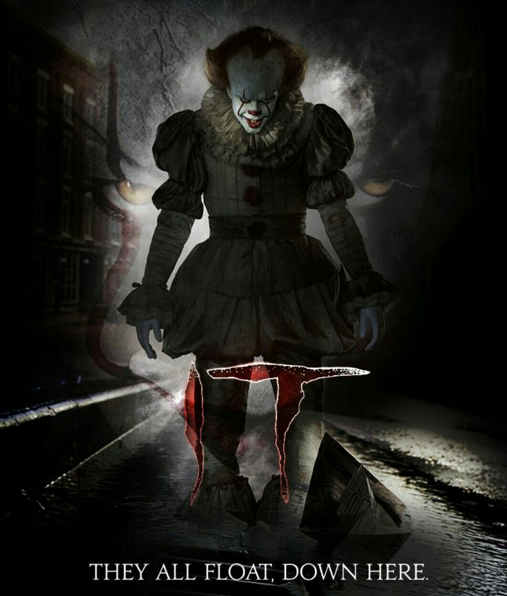 It 2017 Horror Movie Poster