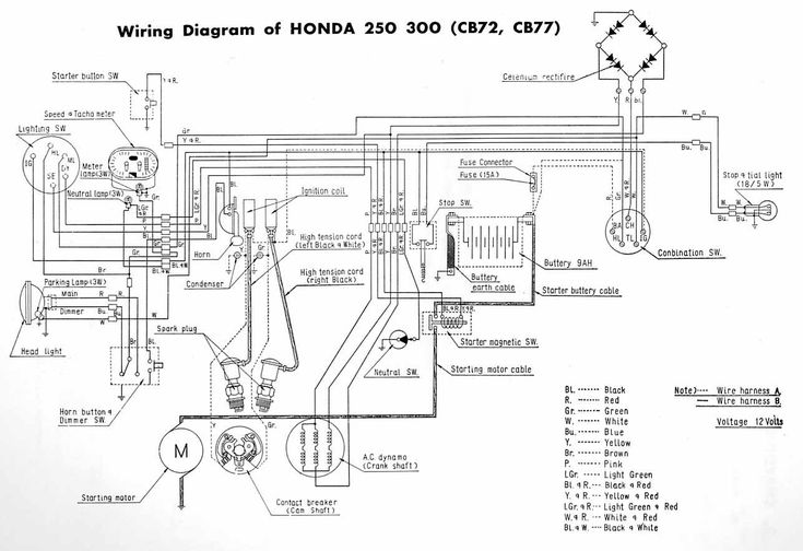 Dohc Cb750 Chopper Wiring Diagram