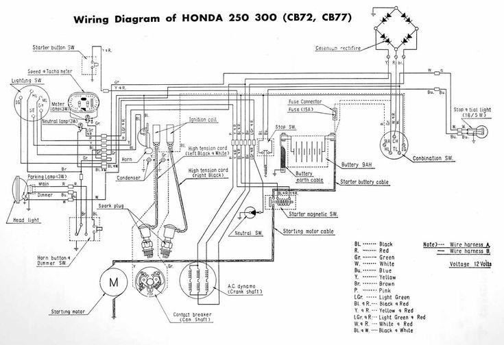 Dohc Cb750 Chopper Wiring Diagram