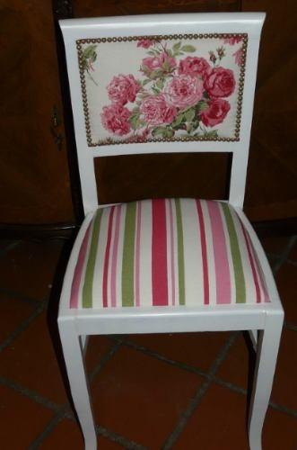 I like the stripes and the floral together.  The colors are a little girly for most homes.