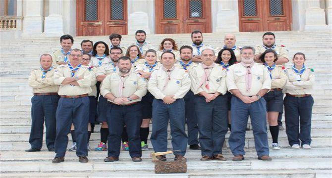 Ολοκληρώθηκαν οι τέσσερις πανελλήνιες σχολές προσκόπων στη Σύρο