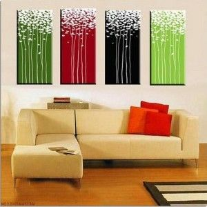 Beautify Your Indoor Area with Artistic Canvas Abstract Painting ...