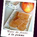 Pâtes de fruits à la pomme - Pause gourmandises