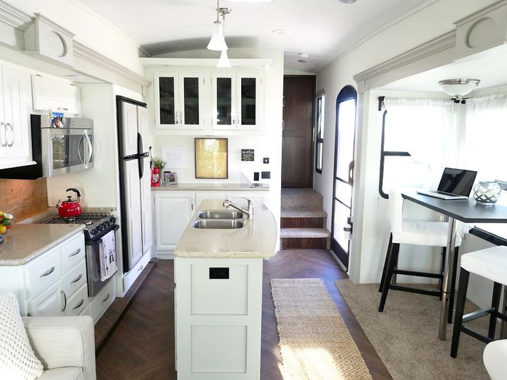 RV Renovation Kitchen