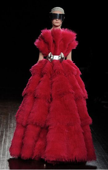 That COLOR. Alexander McQueen. Paris FW