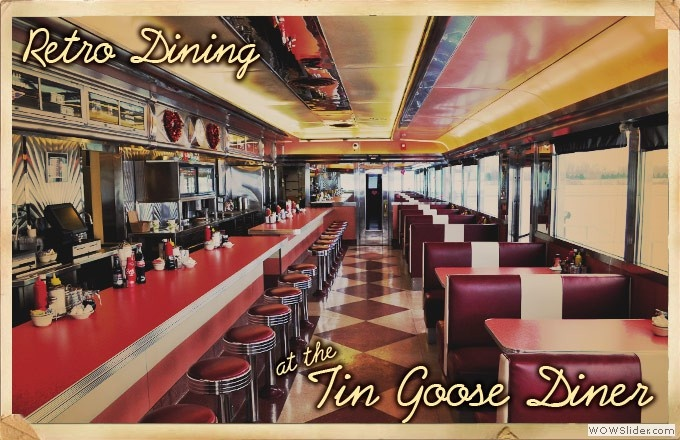 Tin Goose Diner (attached to the Liberty Aviation Museum) Great place to grab a bite to eat & not far from Cedar Point & the islands!! Between Toledo & Cleveland OH located next door to the Port Clinton Airport @ the Liberty Aviation Museum! http://www.tingoosediner.com/