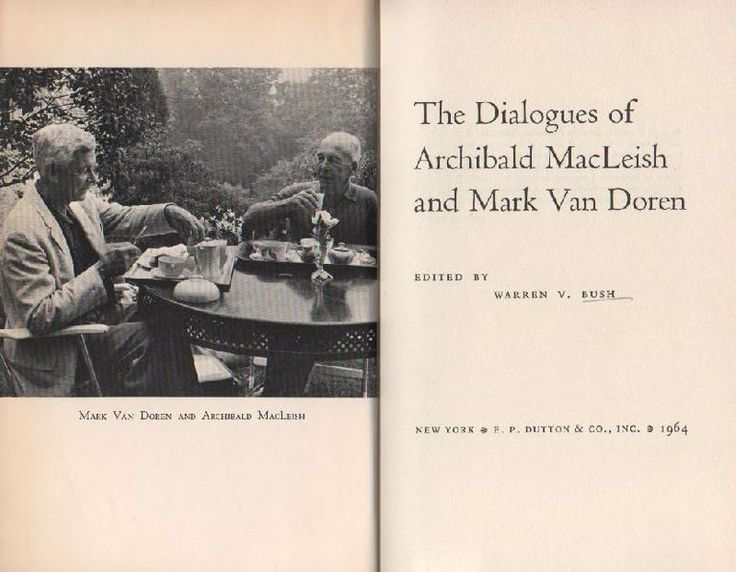 van doren essay new yorker Abstract in july 1968—after robert kennedy's shocking assassination and before the mayhem of the democratic convention—charles van doren and mortimer adler traded letters about drafts of adler's forthcoming book, the time of our lives (1970.