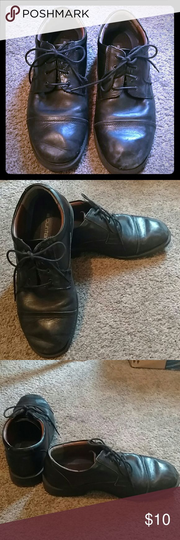 Puritan Men's Shoes Size 13 Men's black tie up Puritan shoes. Lightly used in very good condition. No wear on the soles. Great for comfort and casual wear. Puritan Shoes Loafers & Slip-Ons
