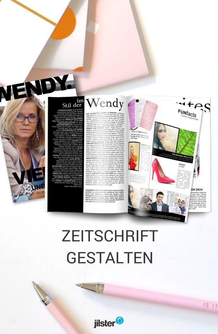 80 besten Zeitschrift gestalten | Vorlagen, Tipps & Ideen rund ums ...