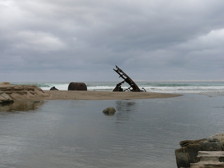 Shipwreck and Boiler - Sikhombe Transkei