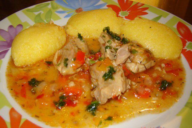 Retete Culinare - Pui cu usturoi