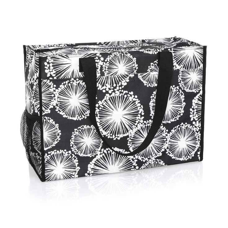 Thirty-one / Deluxe Organizing Utility Tote in Dandelion Dream / $48.00 / Item Code: 8800 / https://www.mythirtyone.com/1872596/product/8800