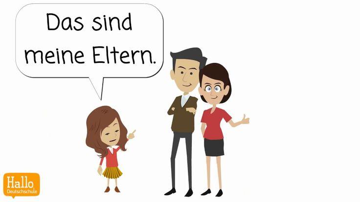 deutsch lernen das ist meine familie vorstellen lektion 3 gesunde v deo deutsch lernen. Black Bedroom Furniture Sets. Home Design Ideas
