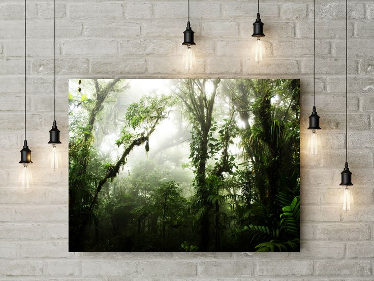 #forest #nature #jungle #green #art #artprint #wallart #homedecor