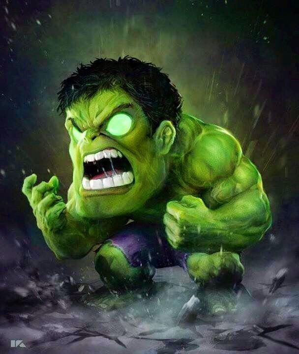 Very Cool Girl Wallpaper Mini Hulk Pahlawan Super Animasi Dan Kartun