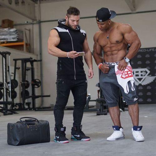 Tavi Castro and Roger Snipes | bodybuilders | Pinterest