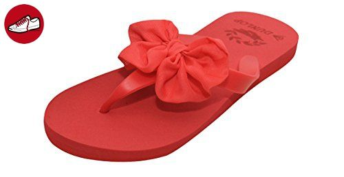 Dunlop , Damen Sandalen Rot rot - Dunlop schuhe (*Partner-Link)