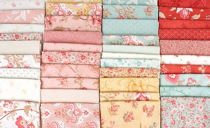 Printemps By 3 Sisters For Moda Fabrics A Romantic New