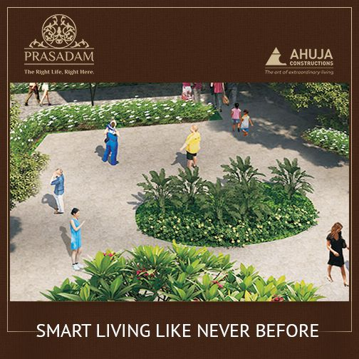 #Prasadam  Future is all about Smart Living.  Book 1 BHK Apartments in just 25,000 & get possession by December 2016.  Hurry! Limited period offer: http://prasadam.in/majestic.php