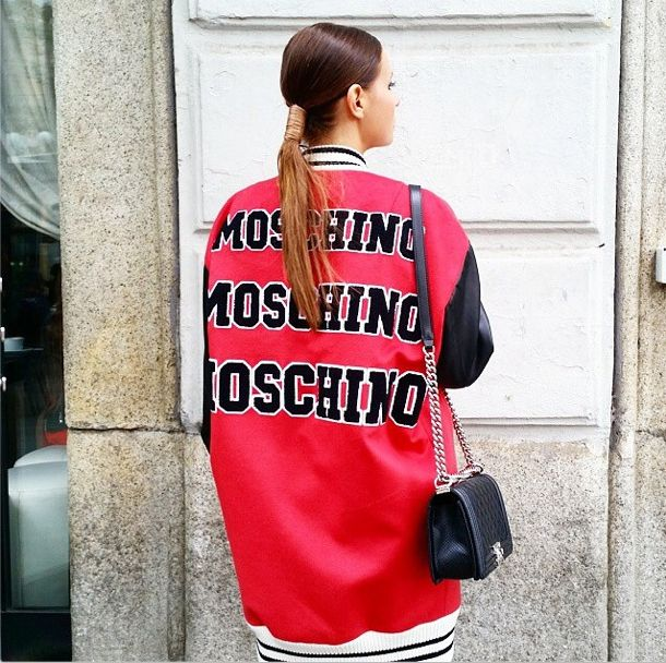 #mfw the beautiful Blogger @veronicaferraro wearing a #MOSCHINO jacket from Gasmy.it #blogger #beautiful #cute #follow #fashion #gasmyfashion #gasmyloveblogger #instagood #instadaily #luxury #looktheday #moda #milano #ootd #photooftheday #revistahola #shop #tweegram