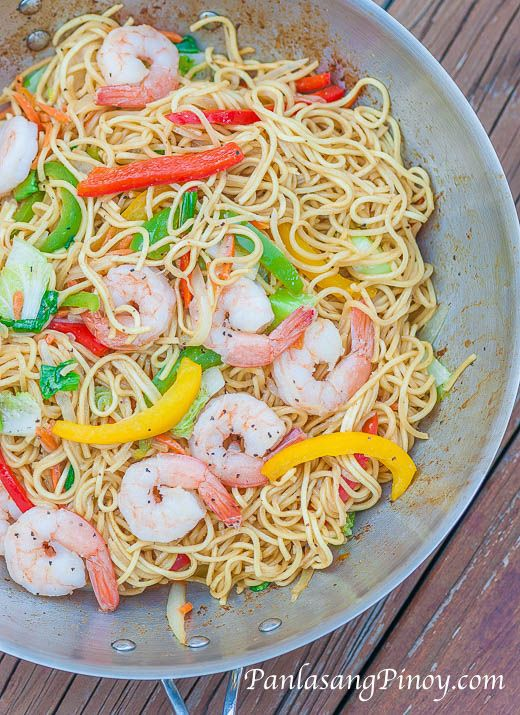 Shrimp Pancit Canton
