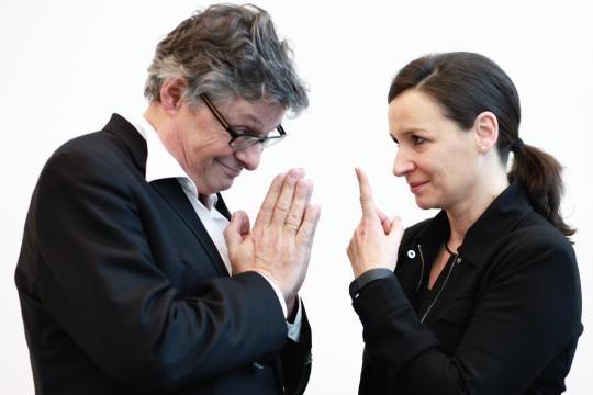 Matthias Matussek und Claudia Becker