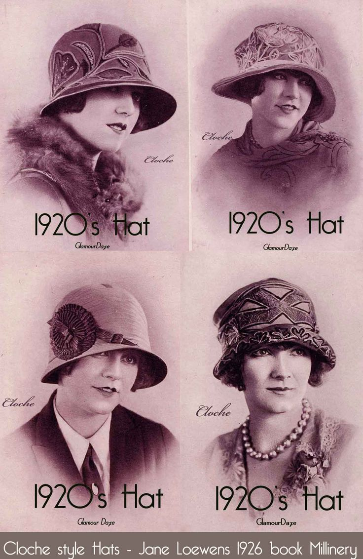 1920′s Cloche Hat Fashion – Matching a hat to your face.    Better known as Line harmony, in the old days of millinery shops, women didn't walk out without a hat that exactly matched their own unique face shape.