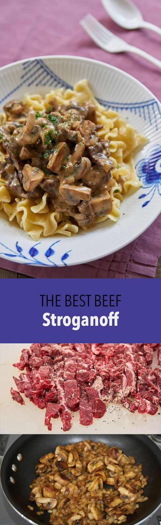 Beef Stroganoff is such an easy meal and yet it's flavorful and comforting. My secrets for making the best Stroganoff.