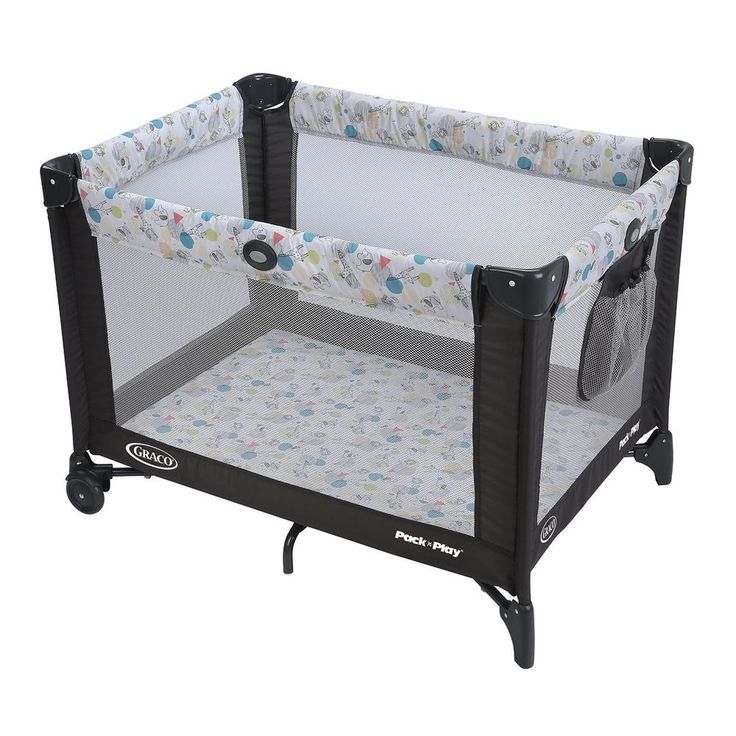 Graco Pack 'n Play Playard With Automatic Folding Feet Playpen Portable New #Graco