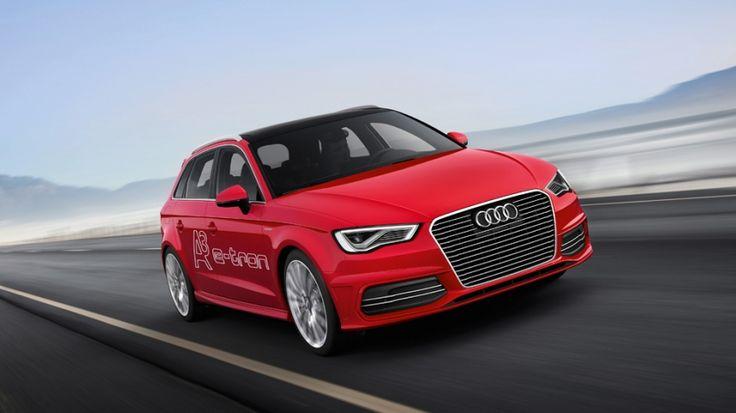 Audi A3 e-tron, a la venta en 2014. http://www.autopista.es/novedades-coches/articulo/audi-a3-sportback-etron-hibrido-enchufable-95538
