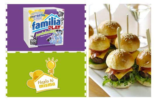 #TipsDelHogar ¡Alimenta de una forma divertida a toda tu familia! Las hamburguesas son uno de los platos preferidos por tus hijos y pueden ser un alimento saludable si usas ingredientes balanceados: harina (pan), proteínas (carne y queso), verduras (tomate y lechuga).