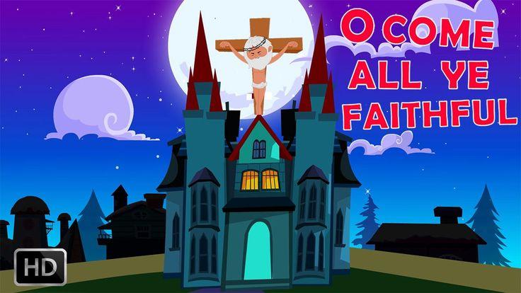 O Come All Ye Faithful - Popular Christmas Song for Kids with Lyrics