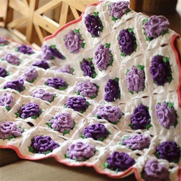 171 best images about Blankets. Crochet & knit on Pinterest