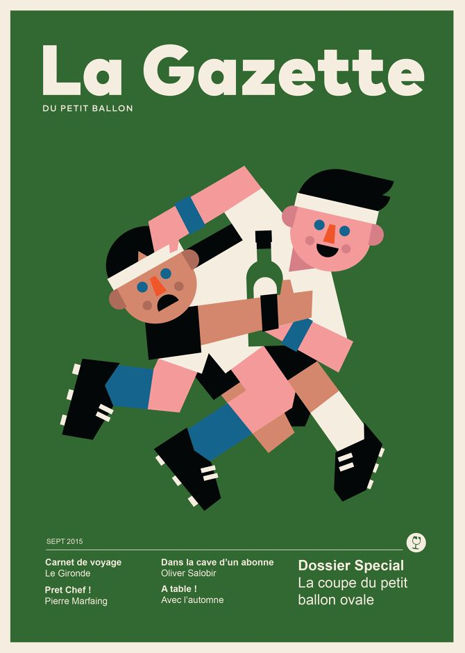 La Gazette Magazine - Ryan Chapman Illustration