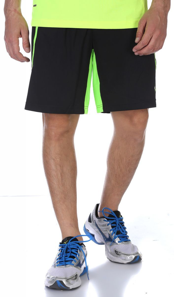 16e6b60ac Price, Review, and Buy Anta Sport Shorts For Men - Black Green | Egypt |  Souq