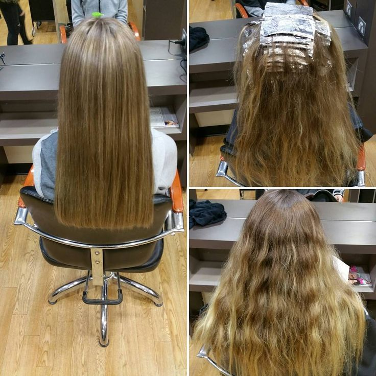 Love my job! Full head of highlights using the FoilerOre! #hairstyle #hairdo…