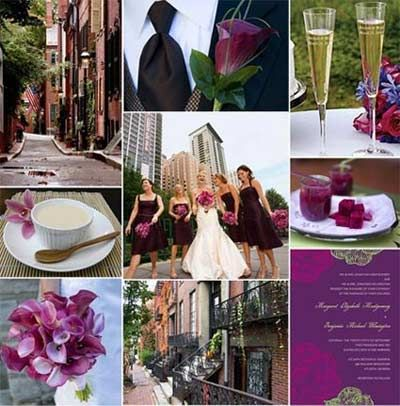 Raspberry Wedding Theme