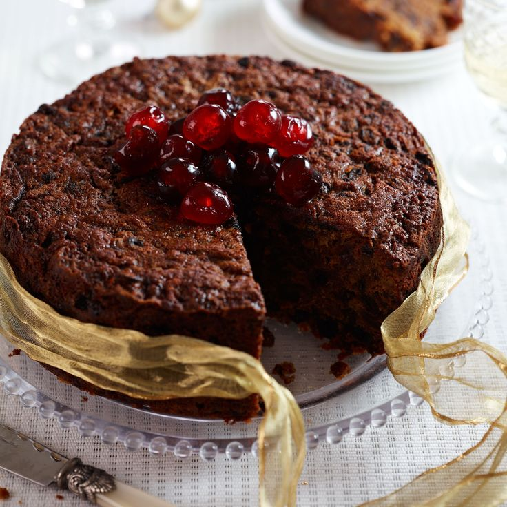 Traditionally the  fruit in this cake is steeped in port and rum for at least 24 hours, a week or even longer if you can. You can imagine how rich, delicious and moist this is - it needs no  icing or decoration, just enjoy it�s glorious flavour!