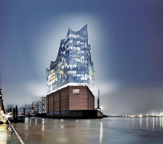 The Elbe Philharmonic. I think I need to go to Hamburg.