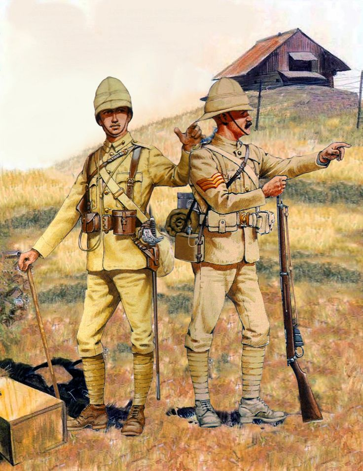 British light infantry, Second Boer War
