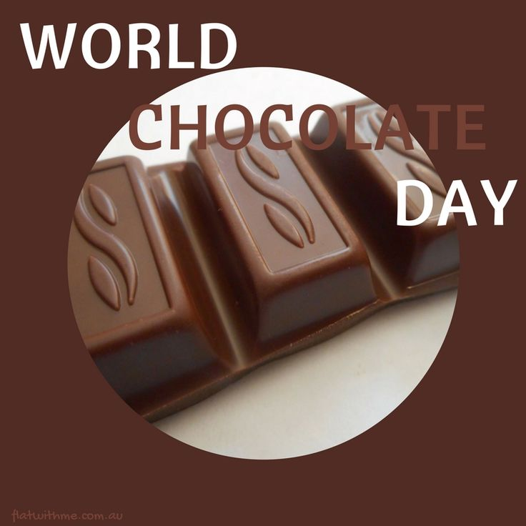 Celebrate World Chocolate Day with your #flatmates. #worldchocolateday